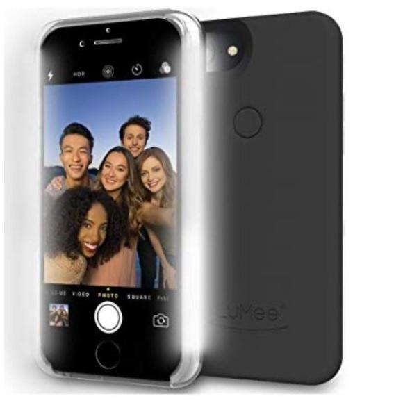 LuMee Selfie Phone Case Blk LED Lighting iPhone 6